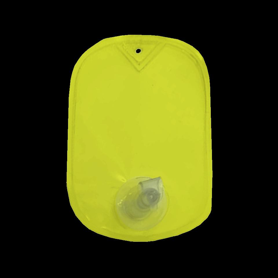 Chaveiro Porta Álcool Gel - Amarelo