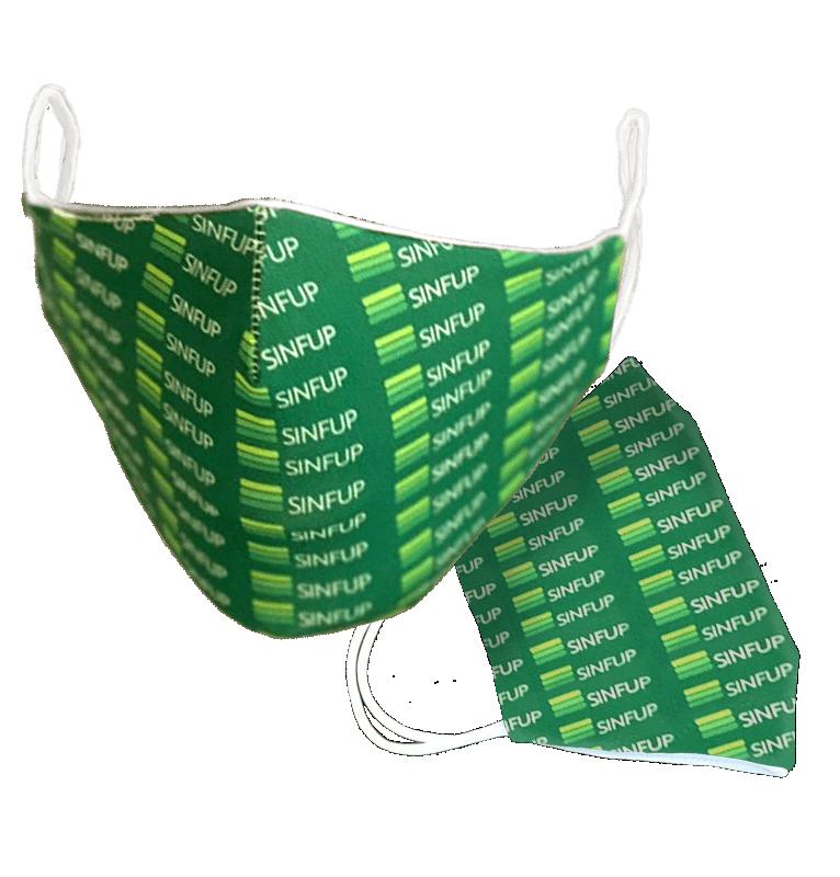 Máscara de Proteção Personalizada Poliamida